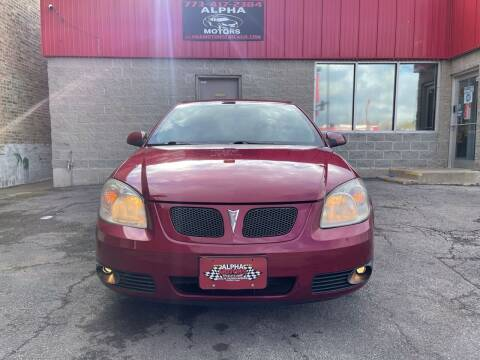 2007 Pontiac G5 for sale at Alpha Motors in Chicago IL