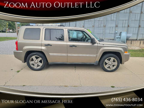 2008 Jeep Patriot for sale at Zoom Auto Outlet LLC in Thorntown IN