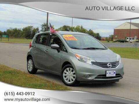 2015 Nissan Versa Note for sale at AUTO VILLAGE LLC in Lebanon TN