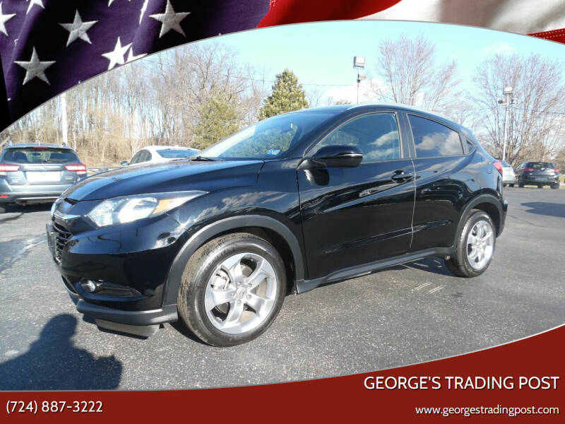 2017 Honda HR-V for sale at GEORGE'S TRADING POST in Scottdale PA