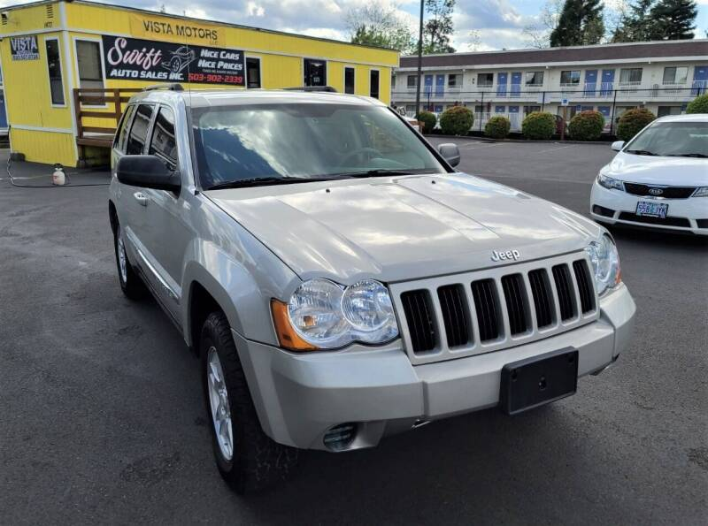 2010 Jeep Grand Cherokee for sale at SWIFT AUTO SALES INC in Salem OR
