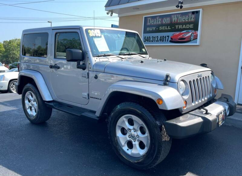 2013 Jeep Wrangler for sale at DEALZ ON WHEELZ in Winchester VA