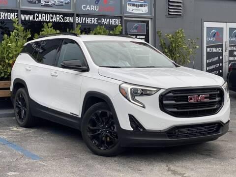 2019 GMC Terrain for sale at CARUCARS LLC in Miami FL