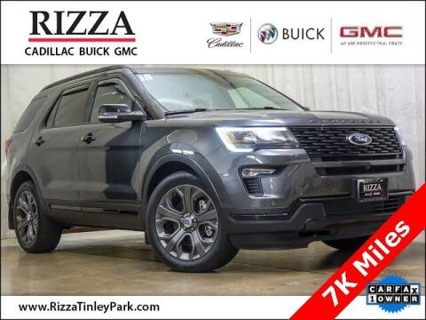 2018 Ford Explorer for sale at Rizza Buick GMC Cadillac in Tinley Park IL