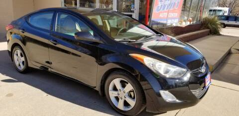 2013 Hyundai Elantra for sale at Swift Auto Center of North Platte in North Platte NE