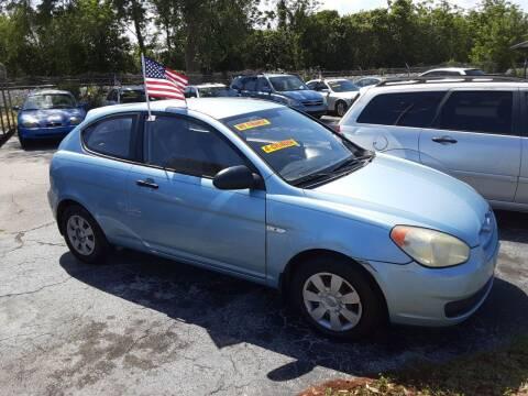 2007 Hyundai Accent for sale at Easy Credit Auto Sales in Cocoa FL