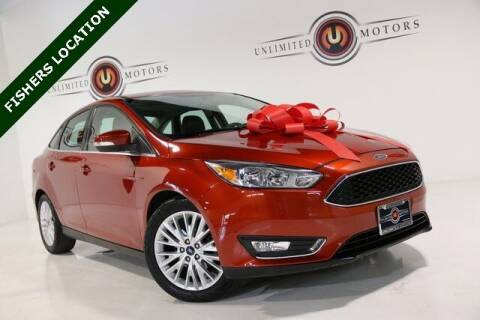 2018 Ford Focus for sale at Unlimited Motors in Fishers IN