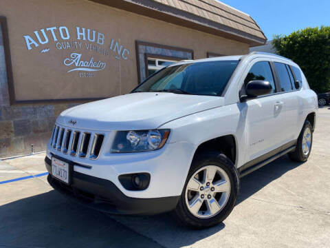 2015 Jeep Compass for sale at Auto Hub, Inc. in Anaheim CA