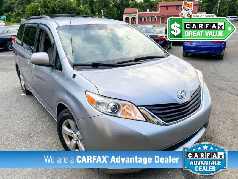 2011 Toyota Sienna for sale at High Rated Auto Company in Abingdon MD