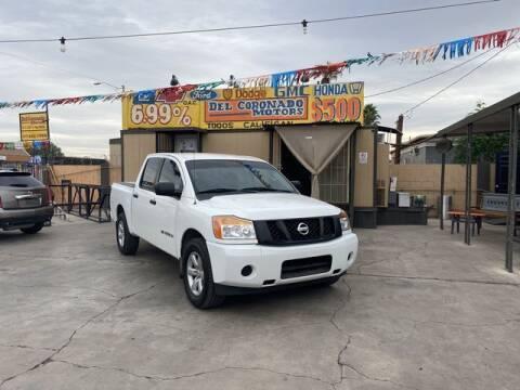 2015 Nissan Titan for sale at DEL CORONADO MOTORS in Phoenix AZ