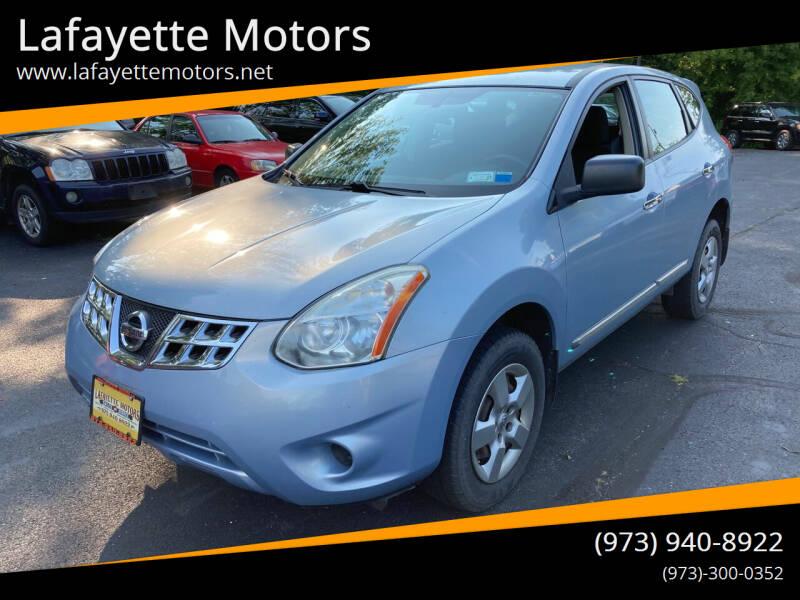 2013 Nissan Rogue for sale at Lafayette Motors in Lafayette NJ