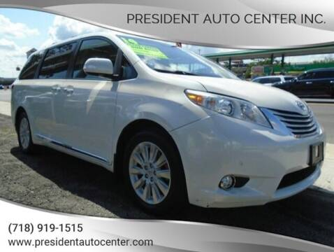 2014 Toyota Sienna for sale at President Auto Center Inc. in Brooklyn NY