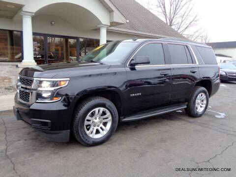 2015 Chevrolet Tahoe for sale at DEALS UNLIMITED INC in Portage MI
