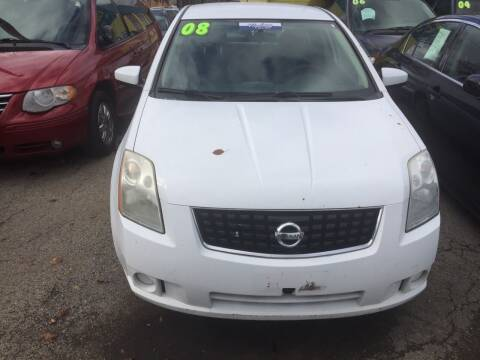 2008 Nissan Sentra for sale at HW Used Car Sales LTD in Chicago IL