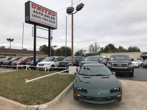 1997 Chevrolet Camaro for sale at United Auto Sales in Oklahoma City OK