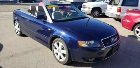 2005 Audi A4 for sale at MQM Auto Sales in Nampa ID