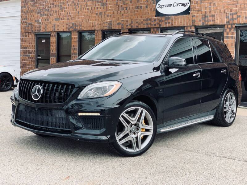 2014 Mercedes-Benz M-Class for sale at Supreme Carriage in Wauconda IL