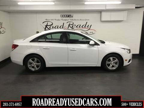 2011 Chevrolet Cruze for sale at Road Ready Used Cars in Ansonia CT