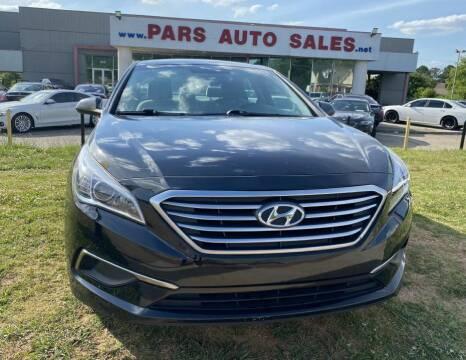 2017 Hyundai Sonata for sale at Pars Auto Sales Inc in Stone Mountain GA