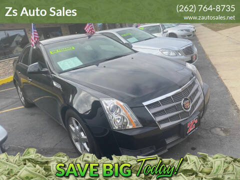 2009 Cadillac CTS for sale at Zs Auto Sales in Kenosha WI