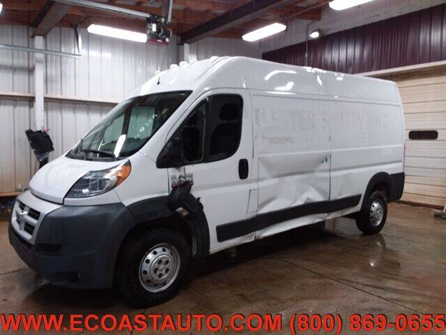 2014 RAM ProMaster Cargo for sale at East Coast Auto Source Inc. in Bedford VA