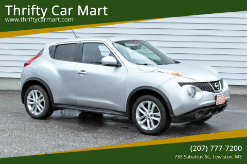 2014 Nissan JUKE for sale at Thrifty Car Mart in Lewiston ME