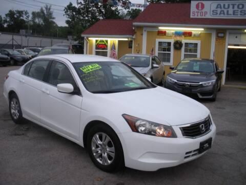 2008 Honda Accord for sale at One Stop Auto Sales in North Attleboro MA