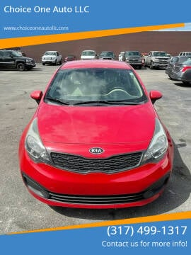 2012 Kia Rio for sale at Choice One Auto LLC in Beech Grove IN
