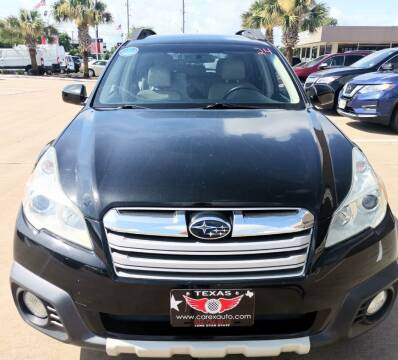2014 Subaru Outback for sale at Car Ex Auto Sales in Houston TX