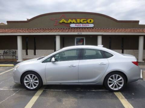 2016 Buick Verano for sale at AMIGO AUTO SALES in Kingsville TX