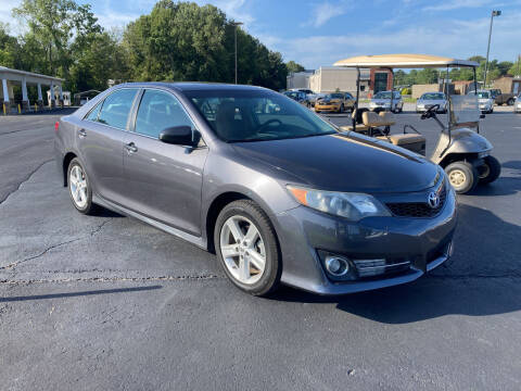 2014 Toyota Camry for sale at McCully's Automotive in Benton KY