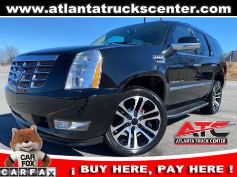2012 Cadillac Escalade for sale at ATLANTA TRUCK CENTER LLC in Brookhaven GA