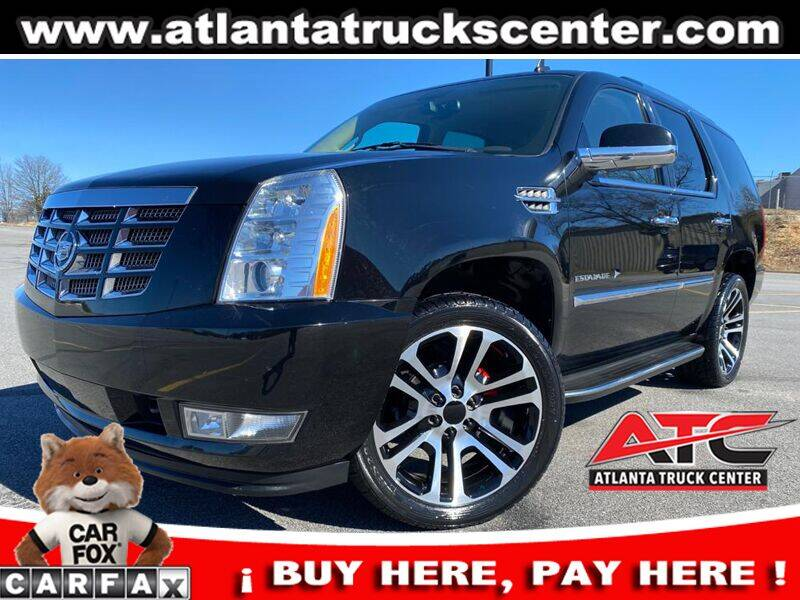 2012 Cadillac Escalade for sale at ATLANTA TRUCK CENTER LLC in Brookhaven GA