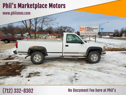 2000 Chevrolet C/K 3500 Series for sale at Phil's Marketplace Motors in Arnolds Park IA