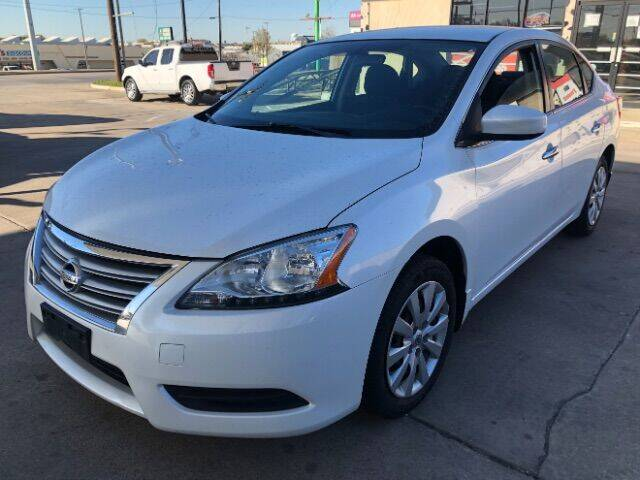 2015 Nissan Sentra for sale at Auto Limits in Irving TX