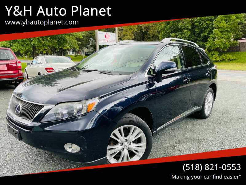 2010 Lexus RX 450h for sale at Y&H Auto Planet in West Sand Lake NY