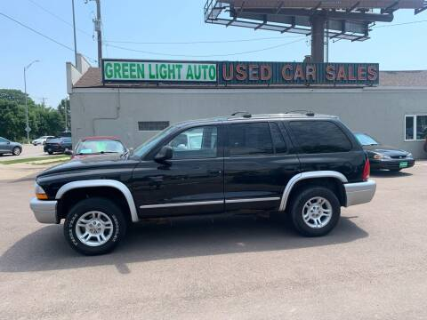 2003 Dodge Durango for sale at Green Light Auto in Sioux Falls SD