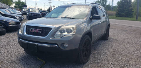 2007 GMC Acadia for sale at EHE Auto Sales Parts Cars in Marine City MI
