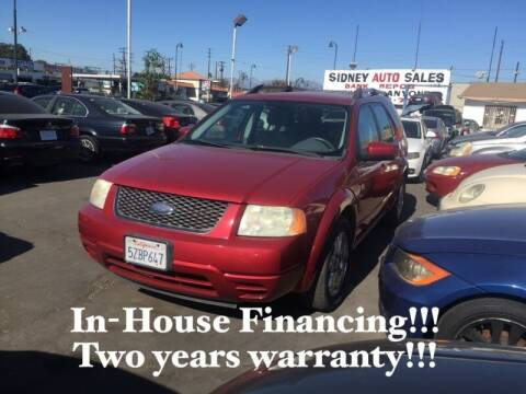 2007 Ford Freestyle for sale at Sidney Auto Sales in Downey CA
