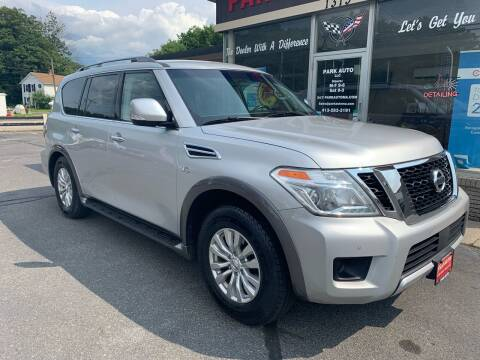2017 Nissan Armada for sale at Park Auto LLC in Palmer MA