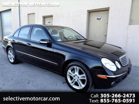 2006 Mercedes-Benz E-Class for sale at Selective Motor Cars in Miami FL