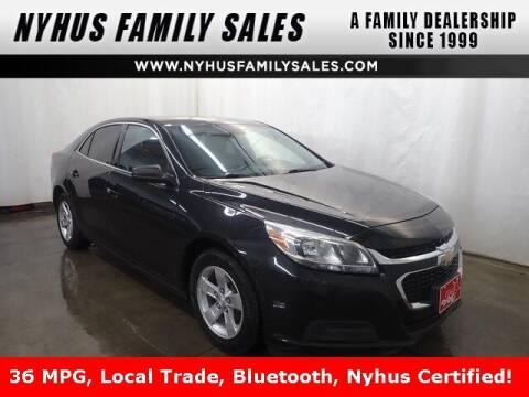 2015 Chevrolet Malibu for sale at Nyhus Family Sales in Perham MN