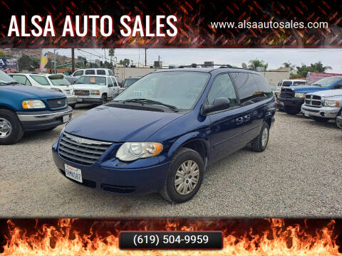2006 Chrysler Town and Country for sale at ALSA Auto Sales in El Cajon CA