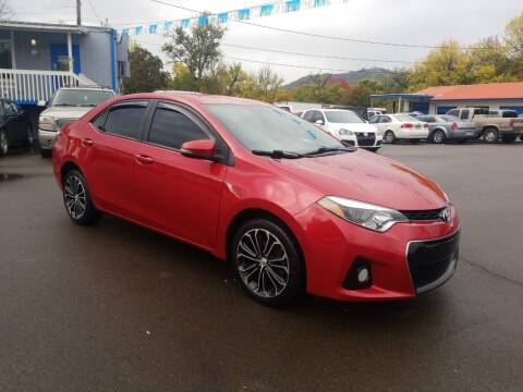 2015 Toyota Corolla for sale at City Center Cars and Trucks in Roseburg OR