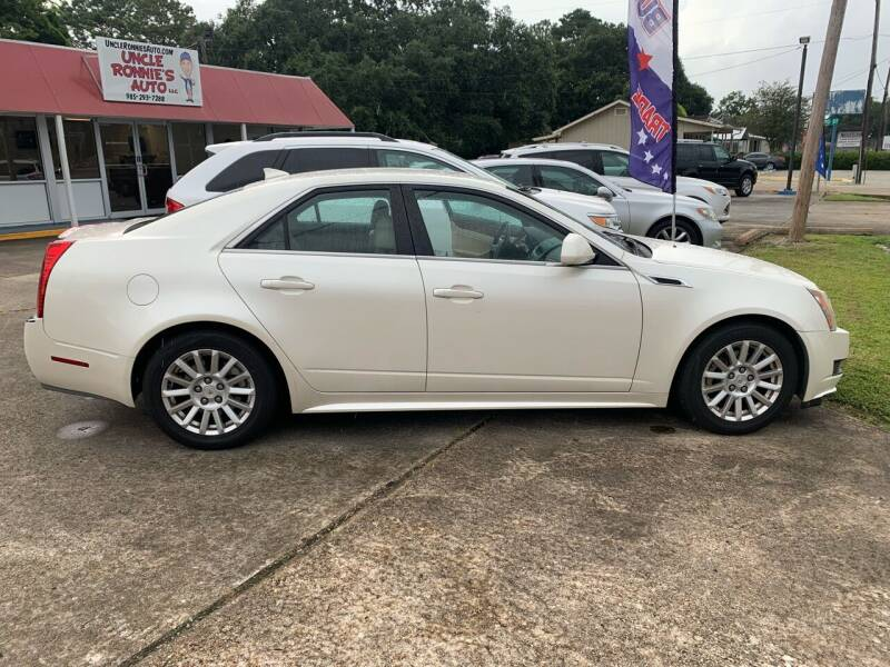 2011 Cadillac CTS for sale at Uncle Ronnie's Auto LLC in Houma LA