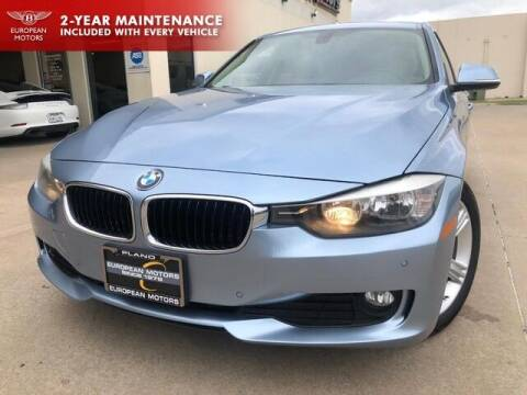 2015 BMW 3 Series for sale at European Motors Inc in Plano TX