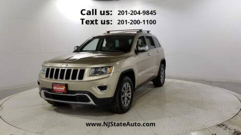 2014 Jeep Grand Cherokee for sale at NJ State Auto Used Cars in Jersey City NJ