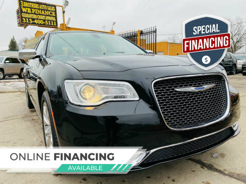 2019 Chrysler 300 for sale at 3 Brothers Auto Sales Inc in Detroit MI