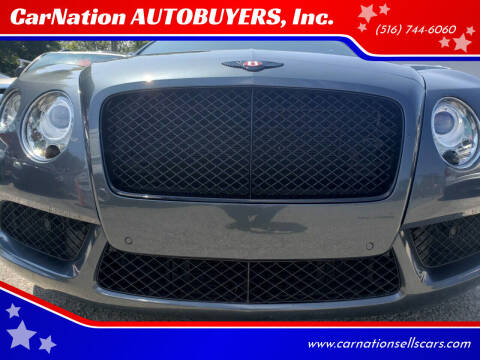 2013 Bentley Continental for sale at CarNation AUTOBUYERS Inc. in Rockville Centre NY