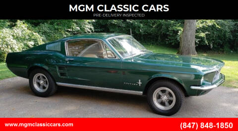 1967 Ford Mustang for sale at MGM CLASSIC CARS-New Arrivals in Addison IL